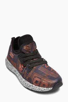 Next All-Over Print Trainers (Older Boys)