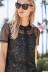 Next Embellished Collar Top