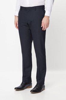 Next Textured Birdseye Suit: Trousers