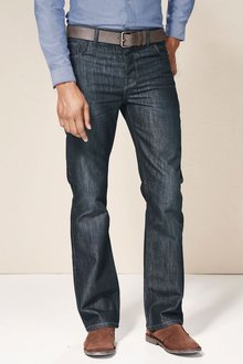 Next Belted Jeans Straight Fit