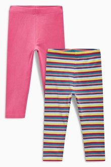 Next Leggings Two Pack (3mths-6yrs)