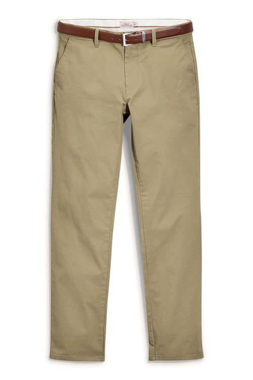 Next Smart Belted Chinos Slim Fit