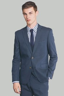 Next Marl Suit: Jacket Skinny Fit