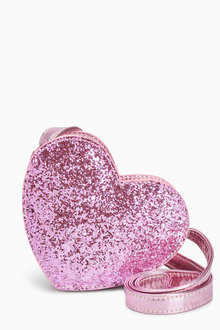Next Heart Glitter Bag