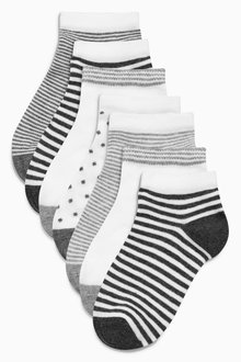 Next Sports Socks Seven Pack (Older Girls)