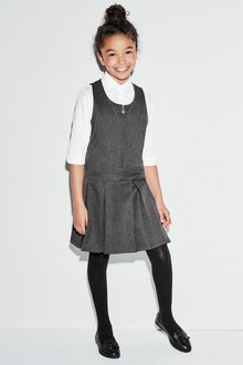 Next Zip Front Pinafore Two Pack (3-10yrs)