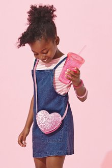 Next Denim Pinafore (3-16yrs)