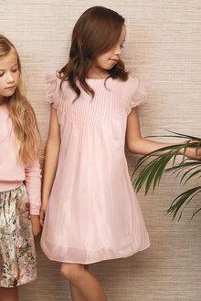 Next Pintuck Dress (3-14yrs)