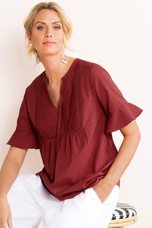 Capture Cotton Voile Shirt - 186391