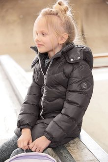 Next Long Sporty Padded Jacket (3-16yrs)
