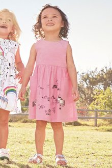 Next Star Print Dress (3mths-6yrs)