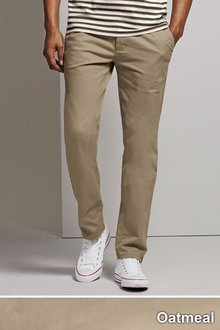 Next Stretch Chinos Straight Fit