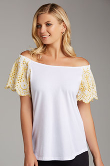 Capture Off Shoulder Tee - 186508