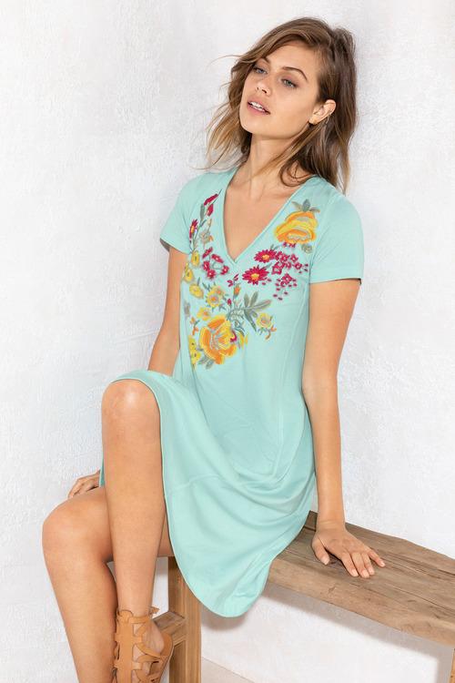 Emerge Embroidery Dress