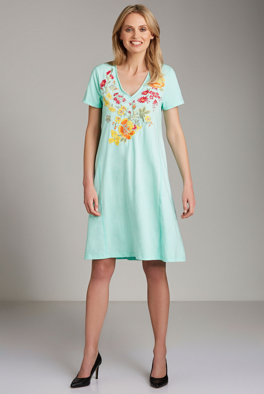Emerge Embroidery Dress Online  c75abc3be
