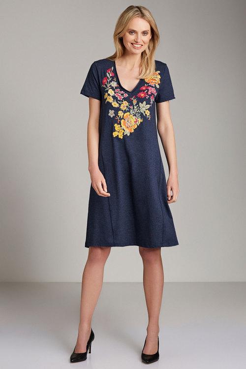 Emerge Embroidery Dress Online | Shop EziBuy
