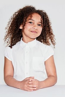 Next Puff Sleeve Blouse (3-16yrs)