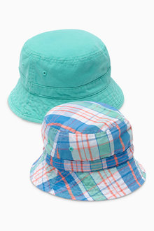 Next Check Fisherman's Hats Two Pack (Younger Boys)