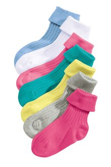 Next Socks Seven Pack (Younger Girls)