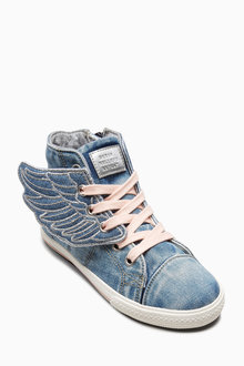 Next Wings High Top Trainers (Older Girls)
