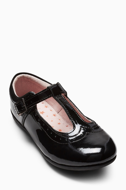 Next T-Bar Patent Shoes (Older Girls)