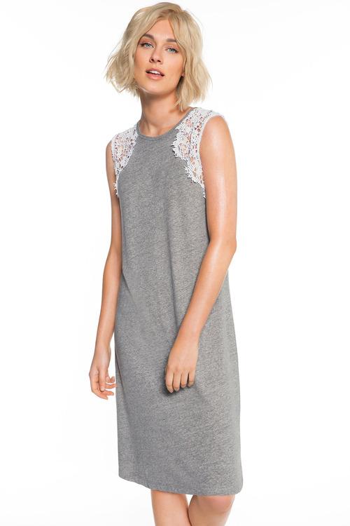 Emerge Lace Insert Dress