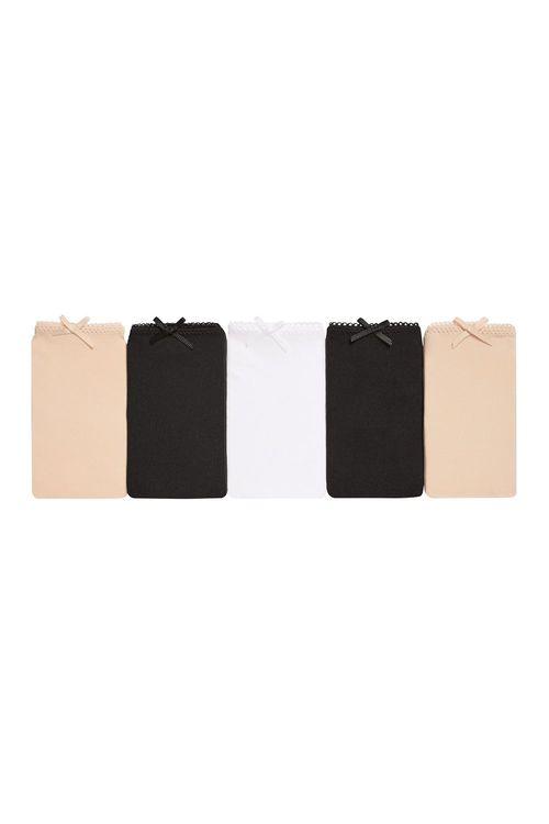 Next Microfibre Low Rise Shorts Five Pack