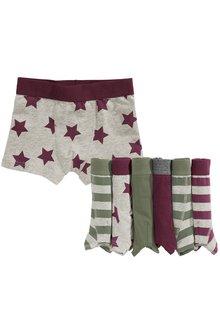 Next Stripe Trunks Seven Pack (2-16yrs)