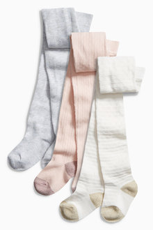 Next Pretty Tights Three Pack (0mths-6yrs)
