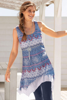 Capture Print Tunic
