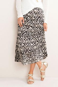 Capture Tiered Skirt - 186854