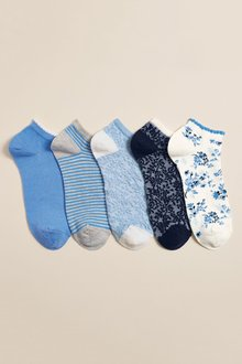 Next Blue 5pack Socks