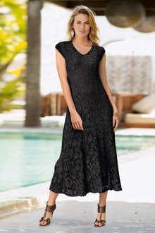 Together Sleeveless Lace Dress - 186985