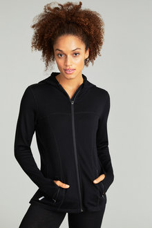 Isobar Merino Zip Through Cardigan - 186986