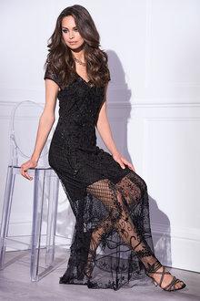 Kaleidoscope Beaded Maxi Dress