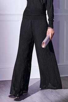 Kaleidoscope Pleated Trouser