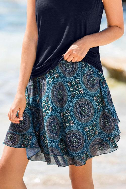 Capture Tiered Skirt