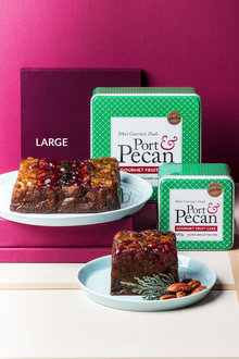 Ithas Port and Pecan Gourmet Fruit Cake