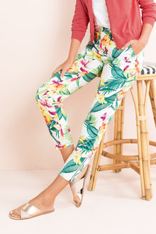 Capture Crop Sateen Pant