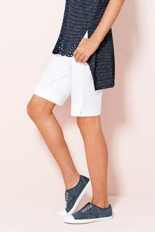 Capture Cotton Sateen Shorts