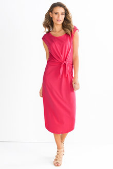 Capture Knot Front Dress