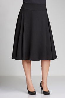 Plus Size - Sara Basque Panel Skirt