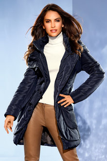 Heine Longline Puffer Coat