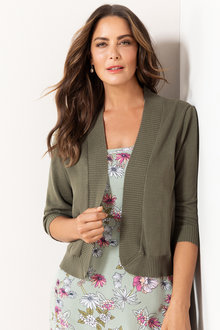 Plus Size - Sara Cotton Cardigan