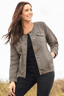 Plus Size - Sara Denim Jacket