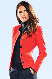 Heine Button Front Blazer