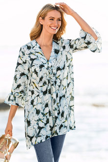 Capture Frill Sleeve Tunic