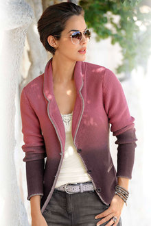 Euro Edit Ombre Cardigan