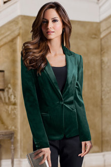 Together Velvet Blazer