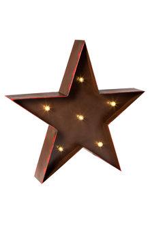 Light Up Rustic Christmas Star